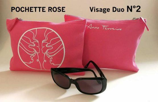 pochette duo rose